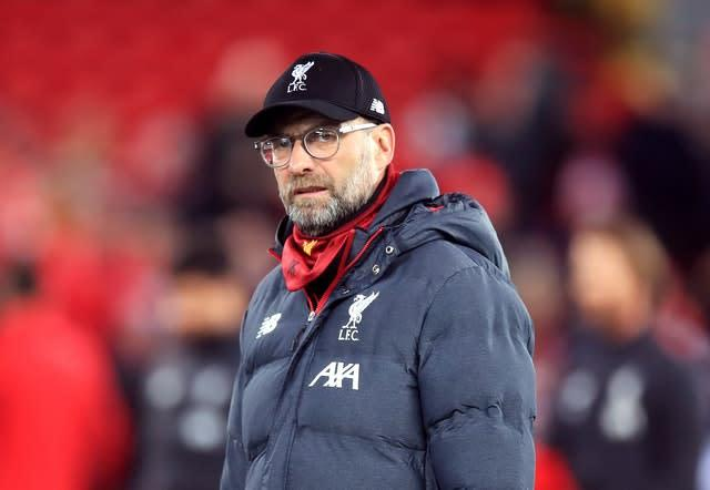 Liverpool manager Jurgen Klopp has sympathy for Newcastle and Bournemouth counterparts Steve Bruce and Eddie Howe (Peter Byrne/PA)