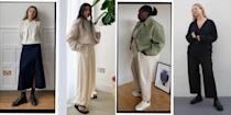 """<p>After a year of hibernation, we've lost all sense of what casual clothes actually are. </p><p>Given that we've been stuck in <a href=""""https://www.elle.com/uk/fashion/what-to-wear/articles/g31236/best-loungewear-tops-trousers-robes-to-buy-now/"""" rel=""""nofollow noopener"""" target=""""_blank"""" data-ylk=""""slk:lounge"""" class=""""link rapid-noclick-resp"""">lounge</a> and<a href=""""https://www.elle.com/uk/fashion/what-to-wear/articles/g31974/the-best-fitness-gym-clothes-to-buy/"""" rel=""""nofollow noopener"""" target=""""_blank"""" data-ylk=""""slk:sportswear"""" class=""""link rapid-noclick-resp""""> sportswear</a> for this long, we thought it would be good to have a little refresher on what makes a fantastic casual outfit, taking cue from content creators (and stylish women) such as Brittany Bathgate and Monikh Dale.</p><p>While jeans and trainers are obvious contenders for the best casual clothes (for good reason), we don't think you should be sleeping on roomy shirt dresses, good quality sandals, sturdy bodysuits and chunky knits. While some items work for every budget, we think sometimes these casual staples are worth investing in, to ensure even on your most chill of days, you feel luxe.</p><p>From the right New Balance trainers to nab, to styling tricks that with give life to even the dullest pair of leggings, here are <strong>35 casual outfits</strong> to inspire your next trip to the shop.</p>"""