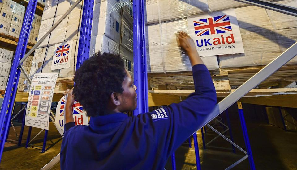 Spending on international aid is being reduced, Rishi Sunak confirmed (Ben Birchall/PA)