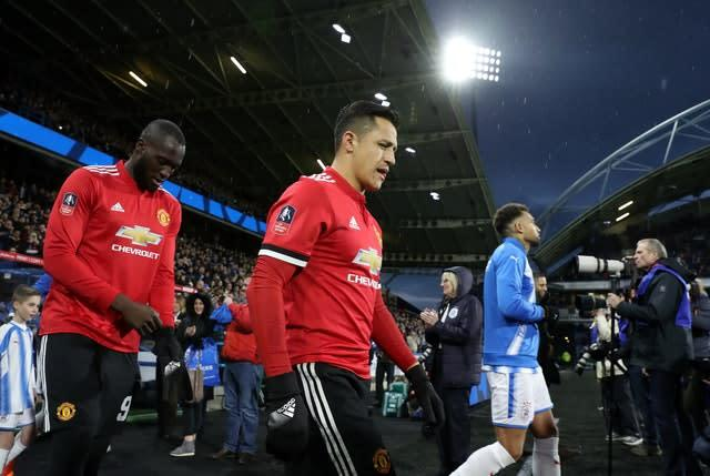 Young is set to follow Alexis Sanchez (centre) and Romelu Lukaku (left) from Old Trafford to the San Siro (Martin Rickett/PA)