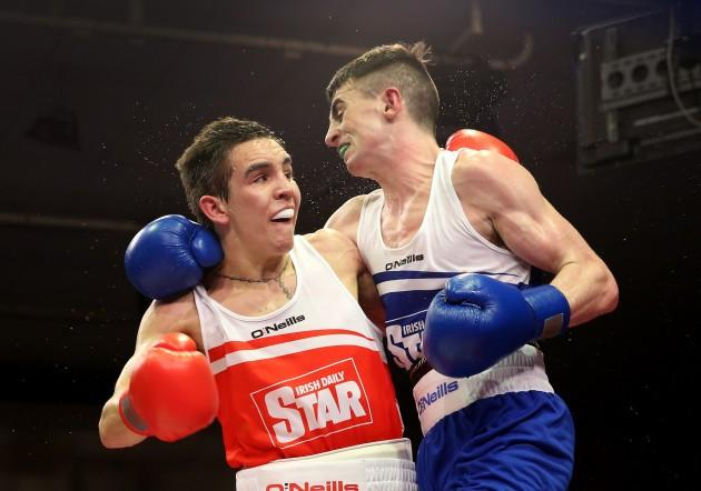 Michael Conlan and Tyrone McCullagh