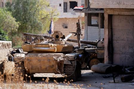 Air strikes hit Syria ceasefire zone: monitor, source