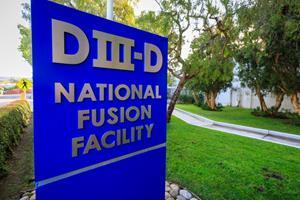 General Atomics operates the DIII-D National Fusion Facility for the U.S. Department of Energy Office of Science. Research at DIII-D is establishing the scientific and technical basis for fusion energy and helping lay the groundwork for deployment of the first fusion pilot plant. Courtesy General Atomics.