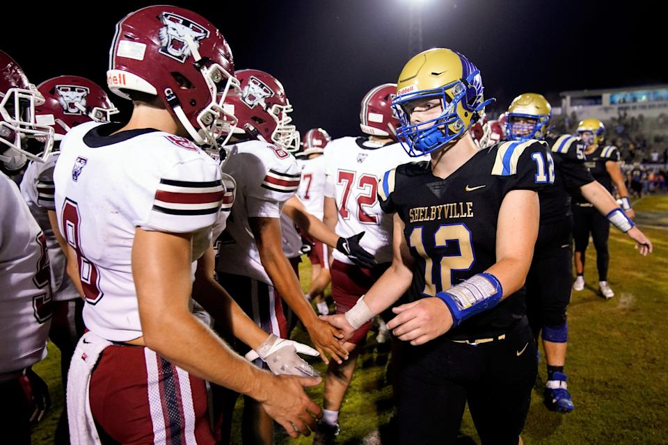 Shelbyville rallied behind Cayden, creating a hashtags like #COVIDCantStopCayden and #WeGotYou12 and raising money to help the family with medical expenses.