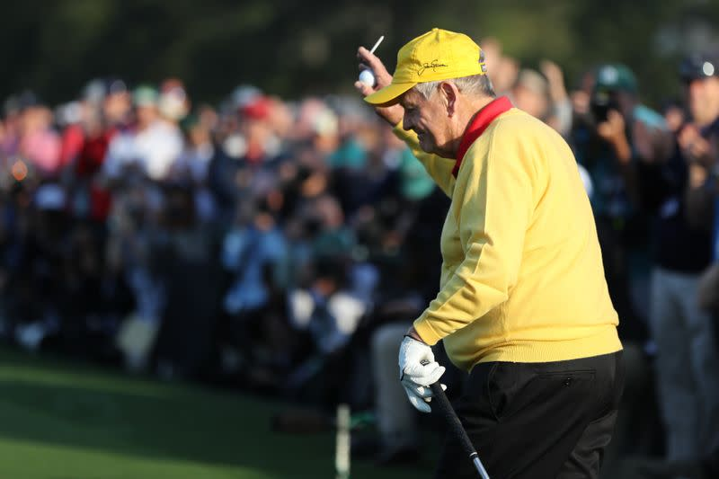 Golf: Nicklaus says he was ill with COVID-19 earlier this year