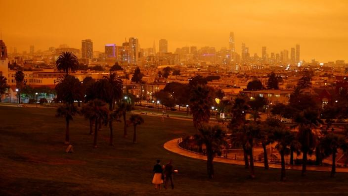 Some residents of San Francisco believed it was still night up when they woke up on Wednesday