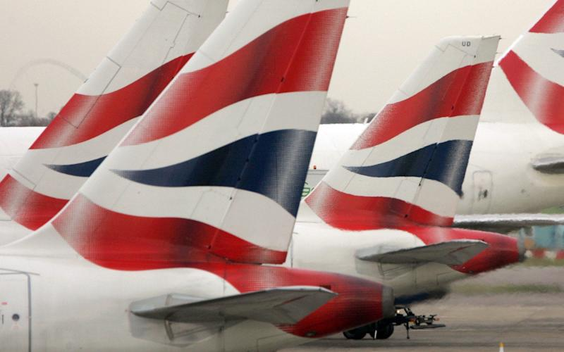 British Airways planes - Tim Ockenden /PA