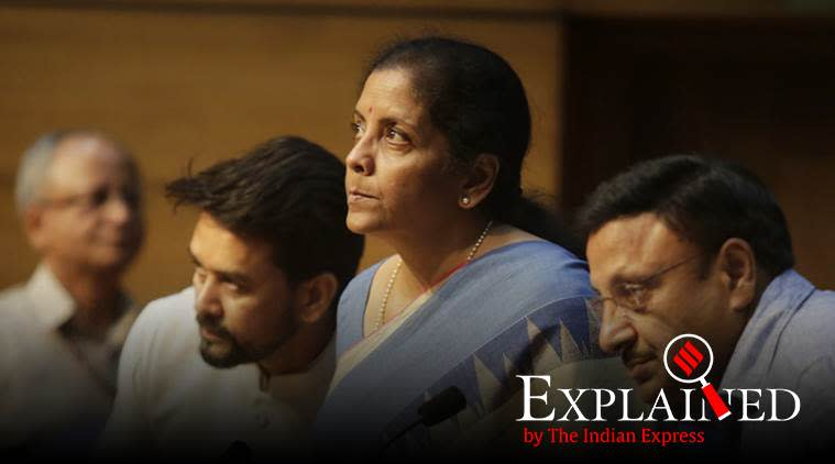 International Financial Services Centres Authority Bill 2019, What is International Financial Services Centres Authority Bill 2019, all you need to know about International Financial Services Centres Authority Bill, Nirmala Sitharaman, Bills in Lok Sabha winter session, indian express