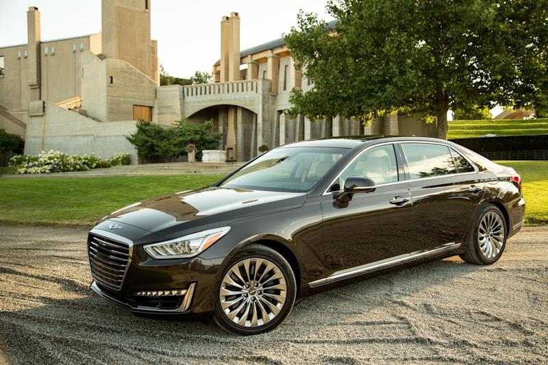 Undercutting Its Rivals Genesis 2017 G90 Offers Luxury For As Low 68 100