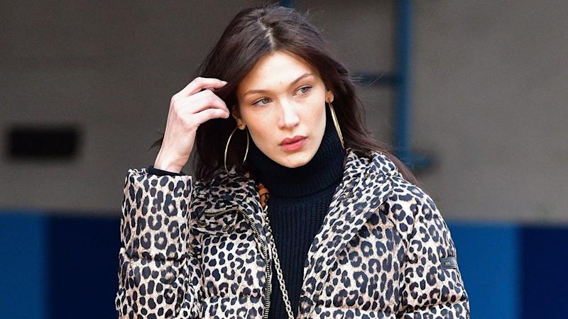 210895ba Bella Hadid Dyes Her Hair Dirty Blonde -- See the New Look!