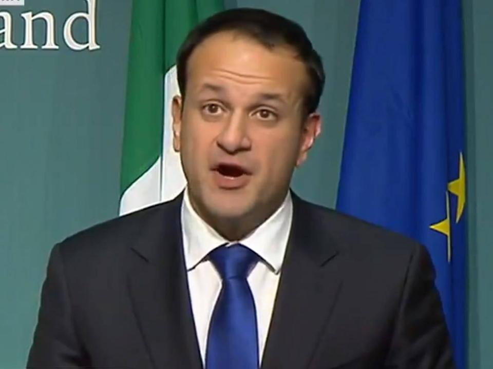 The Irish PM said the UK and Ireland had reached an agreement (BBC)