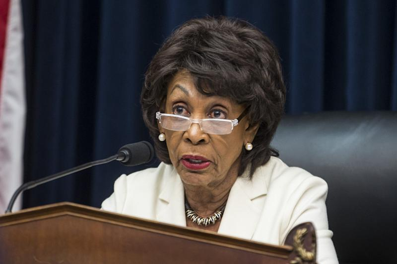 House Financial Services Committee Chairman Maxine Waters, D-Calif., in Washington, D.C., on April 9, 2019.