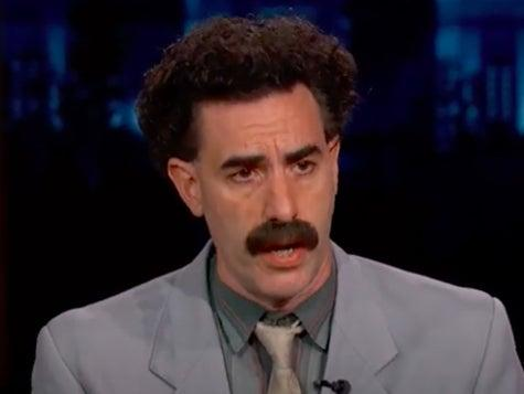 Sacha Baron Cohen is said to have revealed his true identity for the first time during 'Borat 2'YouTube