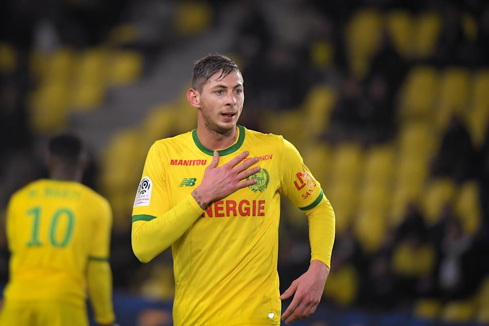 Cardiff City's newest striker Emiliano Sala was on a plane that disappeared while on route to Cardiff. The plane has not been found, and no survivors are expected. (Getty Images)