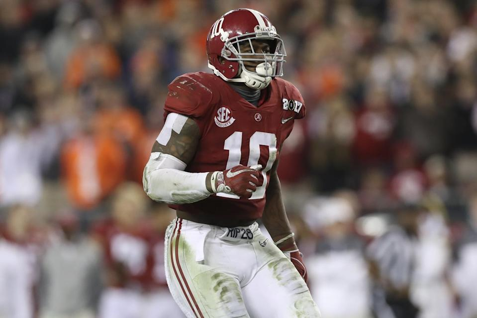Alabama LB Reuben Foster is our top-ranked off-ball linebacker in the 2017 NFL draft. (Getty Images)