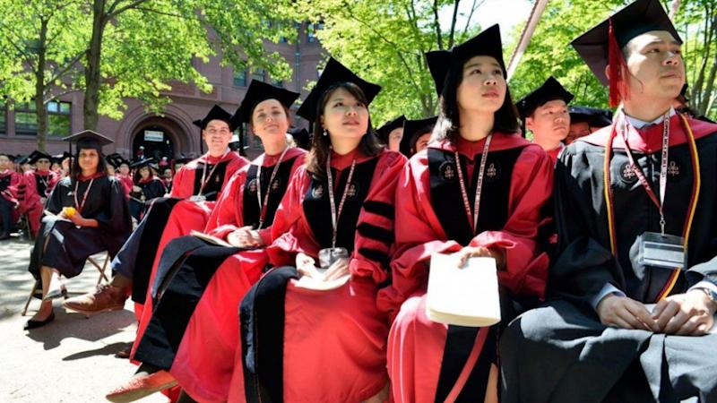 Yale University chief stakes support for international students amid China-US academic visa turmoil