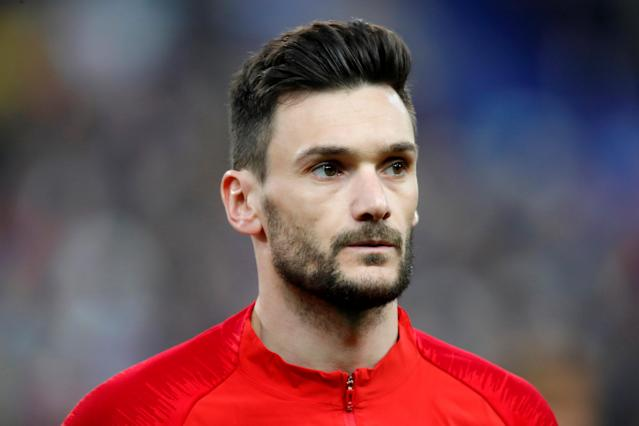 Soccer Football - International Friendly - France vs Colombia - Stade De France, Saint-Denis, France - March 23, 2018 France player Hugo Lloris. Picture taken March 23, 2018. REUTERS/Charles Platiau