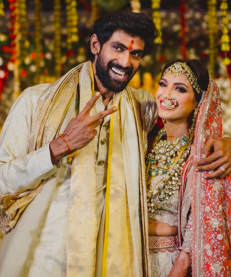 Rana Daggubati-Miheeka Bajaj tied the knot in a dream wedding