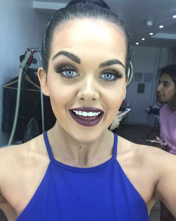 Fighting back: The Gogglebox star was able to get revenge on a former bully during a recent encounter (Copyright: Instagram/scarlett_moffatt)