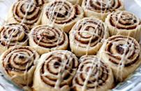 "<p>In Virginia, the top trending searched-for recipe of 2020 was for cinnamon rolls, and who could blame them? Nothing quite beats biting into the fluffy, icing-topped dough rolled with cinnamon and brown sugar.</p> <p><a href=""https://www.thedailymeal.com/best-recipes/buttery-homemade-cinnamon-rolls?referrer=yahoo&category=beauty_food&include_utm=1&utm_medium=referral&utm_source=yahoo&utm_campaign=feed"" rel=""nofollow noopener"" target=""_blank"" data-ylk=""slk:For a Cinnamon Rolls recipe, click here."" class=""link rapid-noclick-resp"">For a Cinnamon Rolls recipe, click here.</a></p>"