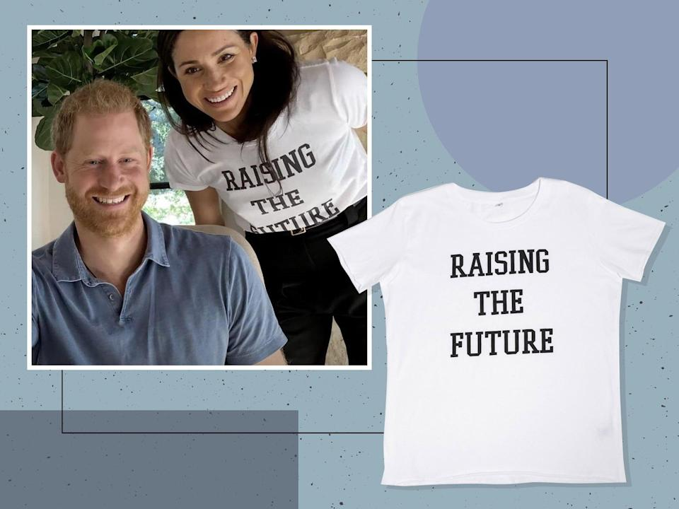 <p>Get your hands on the royal's tee before it sells out</p> (Apple TV/The Independent)