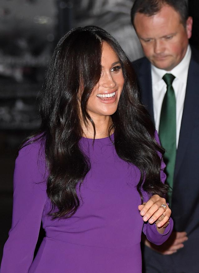 The Duchess of Sussex attends the One Young World Summit Opening Ceremony at Royal Albert Hall. [Photo: Getty]