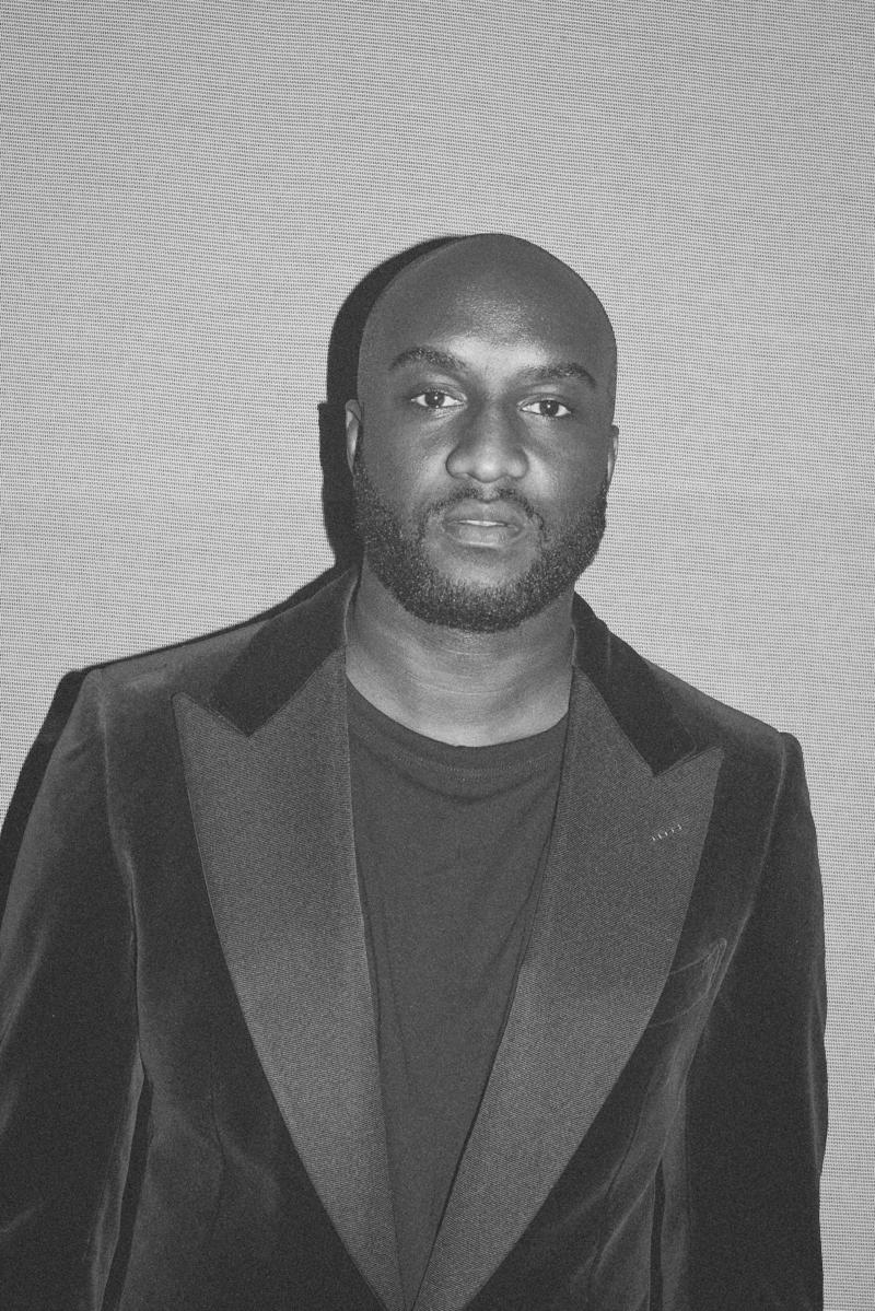 Virgil Abloh attends the Tom Ford Spring 2018 runway show as part of New York Fashion Week.