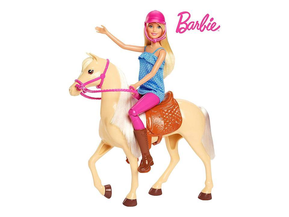 Barbie doll and horse: Was £24.56, now £17.99, Amazon.co.uk (Amazon)