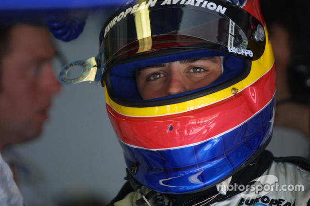 "Casco de Fernando Alonso en 2001 <span class=""copyright"">LAT Images</span>"
