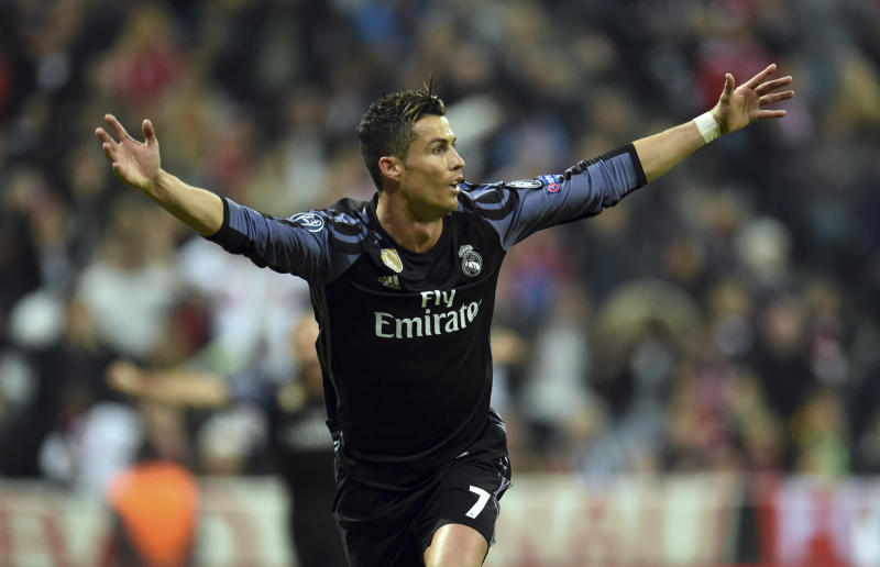 Ronaldo double secures Real Madrid comeback win over Bayern