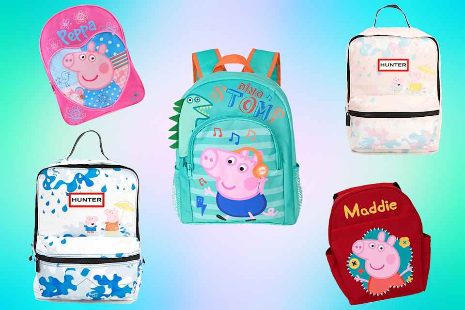 These Peppa Pig backpacks for kids will put them at the top of the class.