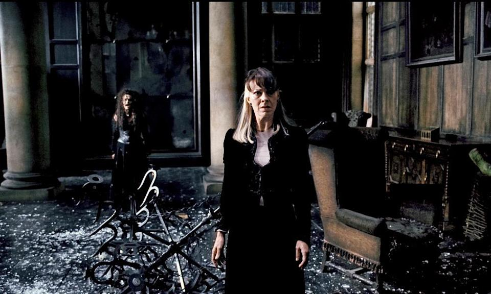 Helen McCrory in Harry Potter and the Deathly Hallows: Part 1, 2010.