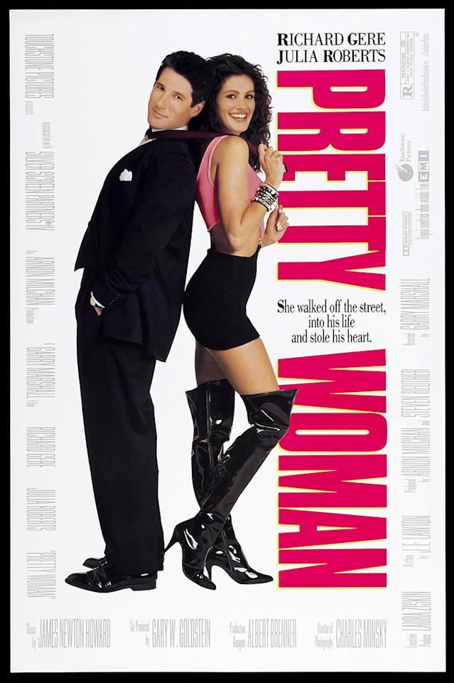 "Think that was Julia Roberts on the poster for ""Pretty Woman""?"