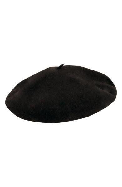 For those with softer waves or curls, this <span>gorgeous beret</span> is lined with soft satin and has a leather sweatband for that perfect fit.