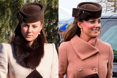 <p>The Duchess of Cambridge liked this hat so much she wore it twice in quick succession; first at a wedding in Switzerland, and then teamed with a similarly repeated coat at Cheltenham races. Time for a little retail therapy, perhaps?</p>