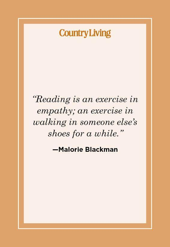"""<p>""""Reading is an exercise in empathy; an exercise in walking in someone else's shoes for a while."""" </p>"""