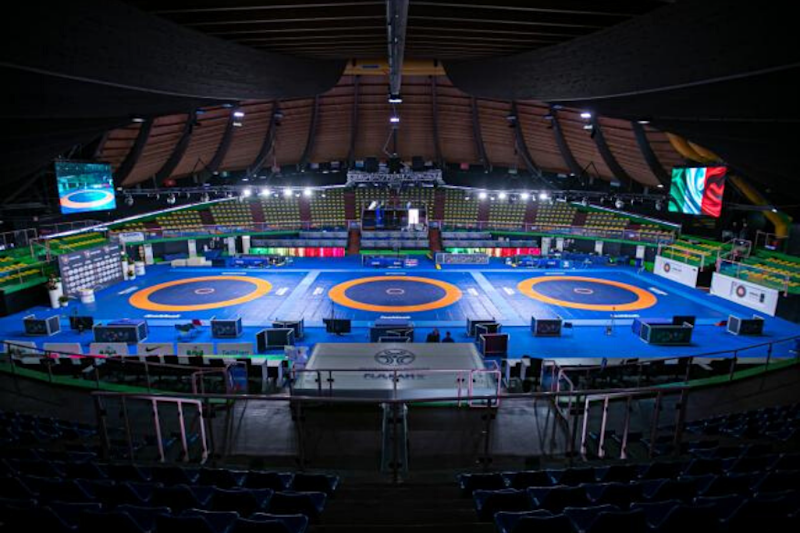 Wrestling Governing Body Plans to Stage First World Championship in Olympic Year