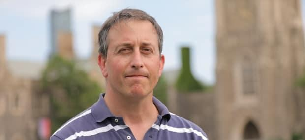Dr. David Fisman, a professor of epidemiology at the University of Toronto's Dalla Lana School of Public Health, has resigned from his position on Ontario's COVID-19 Science Advisory Table. (Ousama Farag/CBC - image credit)