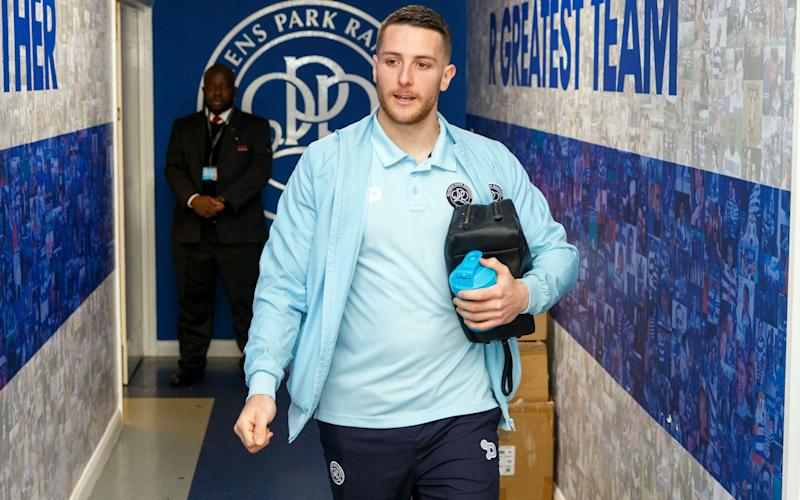 Conor Washington with his washing bag