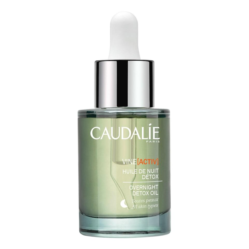 "<p>Full disclosure: This was the facial oil that turned me, an oily-skinned beauty writer and longtime skeptic of facial oils, into a bona fide devotee. Unsurprisingly, it picked up an <a href=""https://www.allure.com/review/caudalie-vine-activ-overnight-detox-face-oil?mbid=synd_yahoo_rss"" rel=""nofollow noopener"" target=""_blank"" data-ylk=""slk:Allure Best of Beauty"" class=""link rapid-noclick-resp""><em>Allure</em> Best of Beauty</a> award because it works hard to maintain skin's moisture overnight with its blend of organic essential oils, including neroli, lavender, carrot, and white sandalwood. </p> <p><strong>$50</strong> (<a href=""https://shop-links.co/1661980005500024508"" rel=""nofollow noopener"" target=""_blank"" data-ylk=""slk:Shop Now"" class=""link rapid-noclick-resp"">Shop Now</a>)</p>"