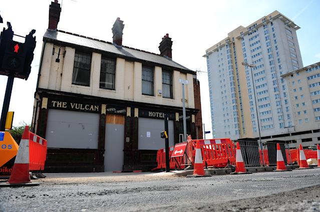 National Museum Wales dismantled the pub the same year before moving it to St Fagans National Museum of History, where it is being pieced back together (WALES NEWS SERVICE)