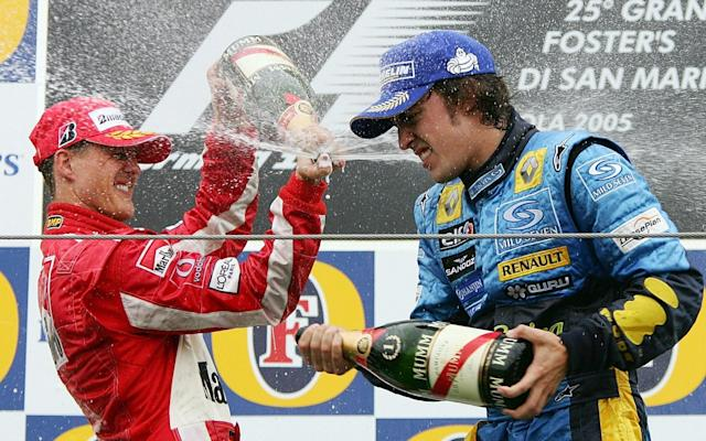 Michael Schumacher and Fernando Alonso were two of the most successful drivers of the 2000s - but where do they place in our rankings? - AP