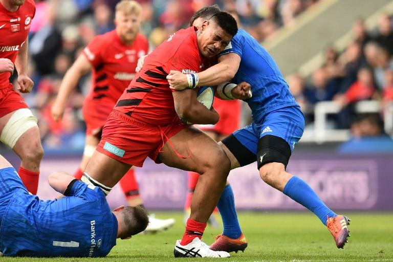 Saracens influential lock Will Skelton has been suspended for four weeks for a dangerous tackle on Brice Dulin in the Champions Cup pool match with Racing 92