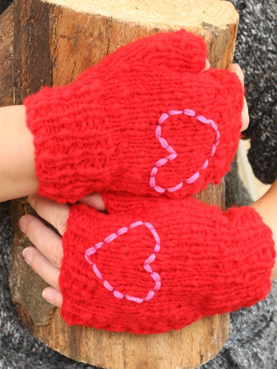 """<p><a class=""""link rapid-noclick-resp"""" href=""""https://www.thelittleknittingcompany.co.uk/index.php?main_page=product_info&cPath=115_119&products_id=1622"""" rel=""""nofollow noopener"""" target=""""_blank"""" data-ylk=""""slk:BUY NOW"""">BUY NOW</a> <strong>£11.95, The Little Knitting Company</strong></p><p>This Be Mine Fingerless Mittens Kit, £10.95, is a one-ball wonder: that is to say, you knit a pair of fingerless mitts from just one ball of yarn. Contrasting yarn for the embroidered heart isn't supplied, but you could do it in the same colour.</p><p><strong>What's in the kit: </strong>One ball of soft Husky 80% wool yarn in a choice of three colours, pair of hand-crafted 5mm/size 6 Subabul hardwood knitting needles — and the easy-to-follow pattern.</p><p><strong>Best for: </strong>Those who can cast on, cast off, knit, purl and increase by making a stitch, so almost everyone!</p>"""