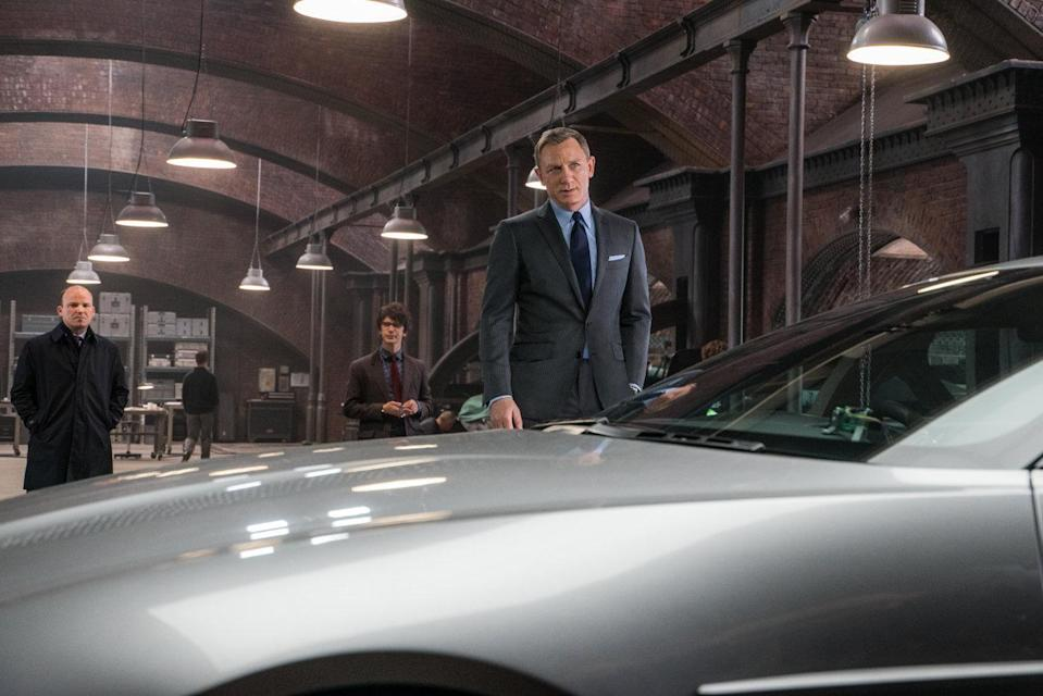Bond an his DB5 in Spectre (Credit: Eon Productions)