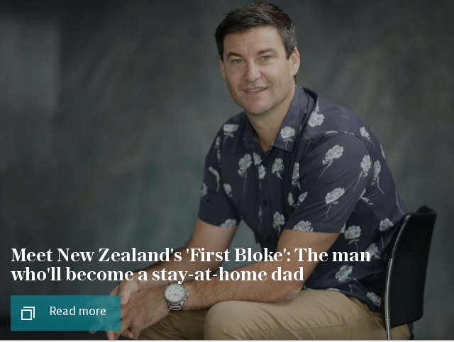 Meet New Zealand's 'First Bloke': Clarke Gayford, the man who'll become a stay-at-home dad