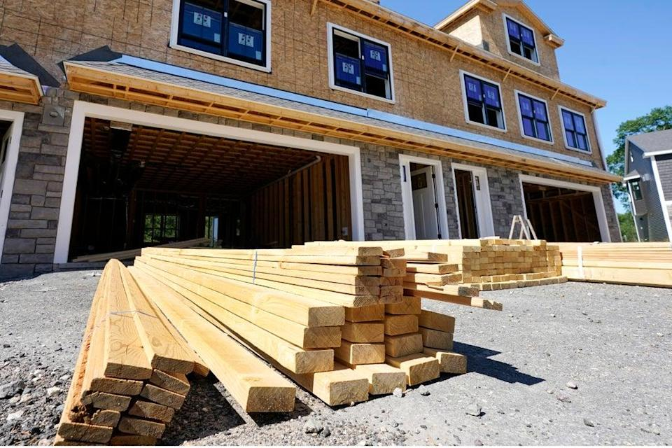 Rising Prices Homebuilding (Copyright 2021 The Associated Press. All rights reserved.)