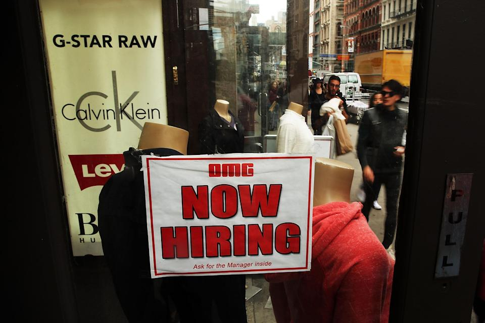 The US economy added 257,000 jobs in January, official figures show (AFP Photo/Spencer Platt)