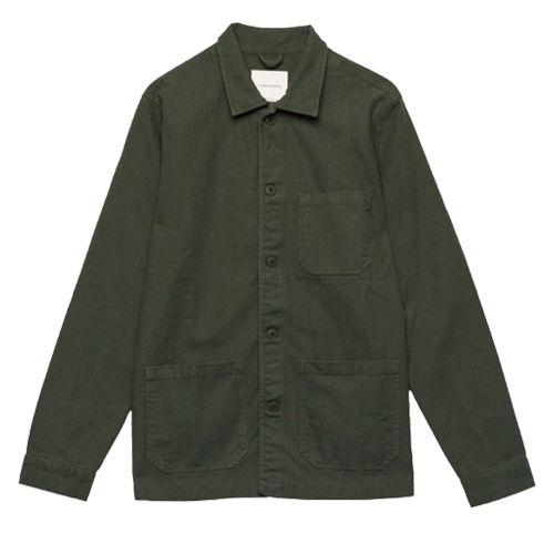 "<p><a class=""body-btn-link"" href=""https://www.adaysmarch.com/uk/shop/overshirts/original-overshirt-herringbone-army"" target=""_blank"">SHOP</a></p><p>A Day's March's mission statement is as simple as it is ambitious: to 'perfect the essentials'. Nowhere is that effort more evident than in the Swedish brand's vast and varied range of well-crafted, reasonably priced overshirts.</p><p>Herringbone 'Original' Overshirt, £110</p>"