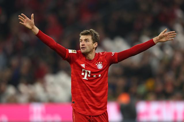 """Stimmungsbarometer"" Thomas Müller. (Bild: Getty Images)"
